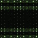 Triángulos brillantes en fondo verde Fotografía de archivo libre de regalías