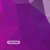 Triángulos coloridos abstractos Imagen de archivo libre de regalías