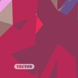 Triángulos coloridos abstractos Fotografía de archivo libre de regalías