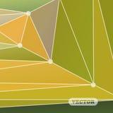 Triángulos coloridos abstractos Fotografía de archivo