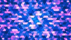 Triángulos de alta tecnología 01 del polígono del centelleo de la difusión ilustración del vector