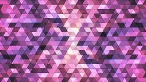 Triángulos de alta tecnología 09 del polígono del centelleo de la difusión ilustración del vector