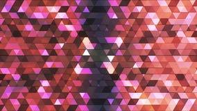 Triángulos de alta tecnología 15 del polígono del centelleo de la difusión libre illustration