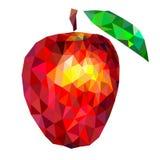 Triángulos de Apple Imagenes de archivo
