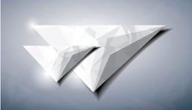 Triángulo abstracto del diamante Imagen de archivo