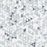 Triángulos digitales del fondo del vector Fotografía de archivo
