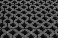 Triángulos en fila Imagen de archivo