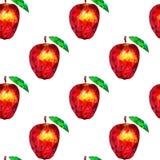 Triángulos inconsútiles de las manzanas del modelo Fotos de archivo