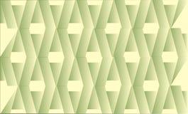 Triángulos verdes imagen de archivo