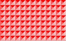 Triángulos y cuadrados abstractos del modelo stock de ilustración