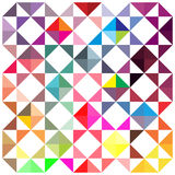 Triângulo abstrato ilustração stock