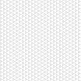 Triângulo cinzento do teste padrão sem emenda no fundo branco Fotografia de Stock Royalty Free