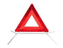 Triângulo de advertência Foto de Stock Royalty Free