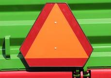 Triângulo de advertência imagens de stock royalty free