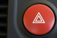 Triângulo de advertência fotos de stock royalty free