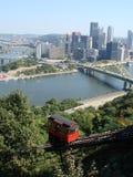 Triângulo dourado de Pittsburgh Fotografia de Stock
