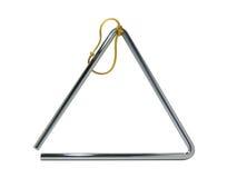 Triângulo musical imagens de stock