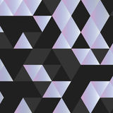 Triângulo preto e branco foto de stock royalty free