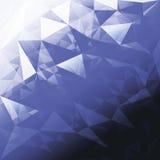 Triângulo; teste padrão; azul; fundo; fundo; projeto; composi Fotografia de Stock
