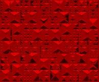 Triângulo vermelho do fundo Fotografia de Stock