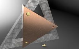 triângulos Fotografia de Stock