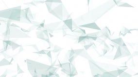 Triângulos cinzentos e brancos ilustração royalty free