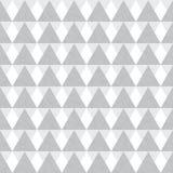 Triângulos geométricos do cinza de prata do vetor Fotos de Stock