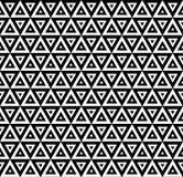 Triângulos sem emenda modernos do teste padrão do vetor Imagens de Stock