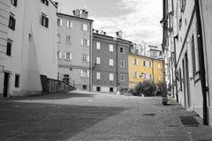 Triëst - Elementen Città Stock Afbeeldingen