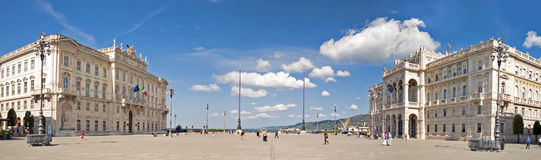 Triëst, Italië stock fotografie