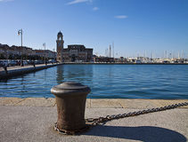 Triëst, Italië, panorama van Rive Royalty-vrije Stock Afbeelding