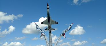 Tri aereo Fotografia Stock Libera da Diritti