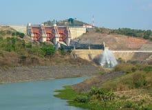 Tri Anlagen einer Wasserkraft in Vietnam lizenzfreie stockfotografie