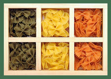 Tri-color farfalles Lizenzfreies Stockfoto