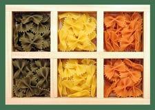Tri-color farfalles Стоковое фото RF