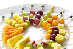 Tri différent de canape de fruit Images libres de droits