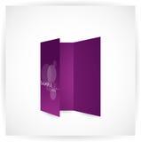 Tri-fold brochure design. For web Stock Images