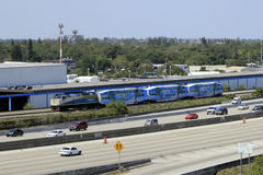 Tri-Rail Transportation Stock Photos
