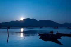 Tri Thuy Fishery Village Stock Photos
