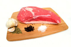 Tri Tip Roast And Species Stock Photos