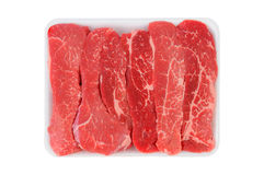 Tri-Tip Steak Strips Royalty Free Stock Image
