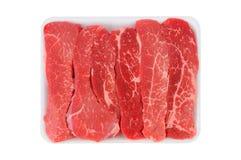 Tri-Tippa Steakremsor royaltyfri bild