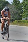?Tri-voor-a-behandeling? Triathlon om Kanker te bestrijden Royalty-vrije Stock Foto