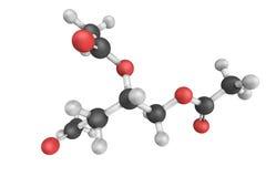 Triacetin triester glicerol i acetylating agenci, taki Fotografia Royalty Free