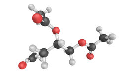 Triacetin, the triester of glycerol and acetylating agents, such Royalty Free Stock Photography