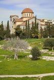 triada εκκλησιών της Αθήνας agia Στοκ Φωτογραφία