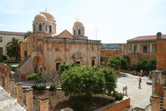 triada för agiacrete kloster Royaltyfria Bilder