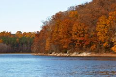 triadelphia озера Стоковые Фото