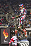 Trial - Adam Raga. Adam Raga compete at Trial Indoor of Barcelona, on February 9, 2014, in Palau Sant Jordi stadium, Barcelona, Spain. Toni Bou was the winner Stock Images