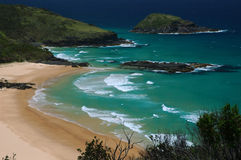 Trial Bay. Seaside resorts in Australia. Beach at Trial Bay royalty free stock image